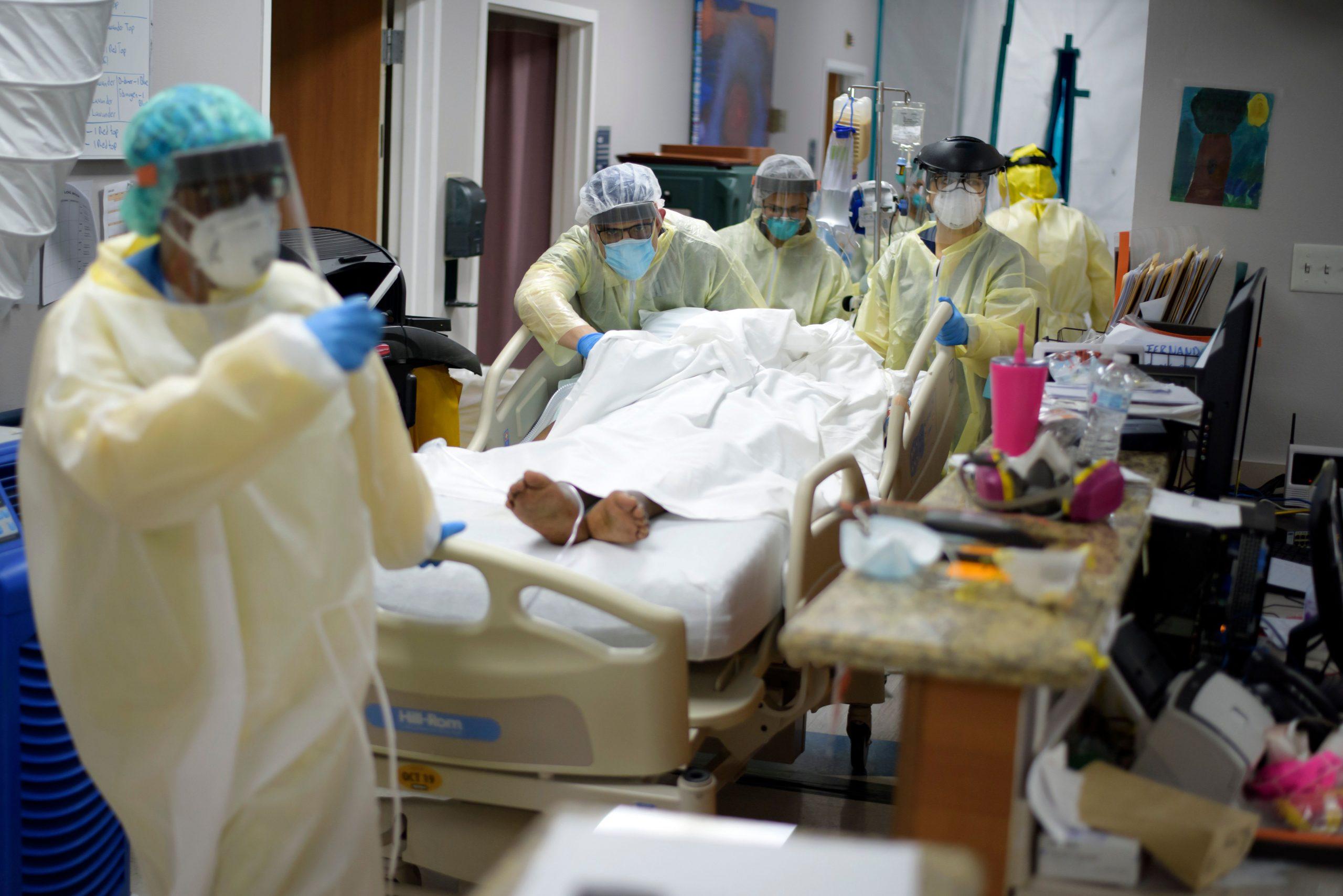 Coronavirus on track to overwhelm Houston hospitals in two weeks, mayor says