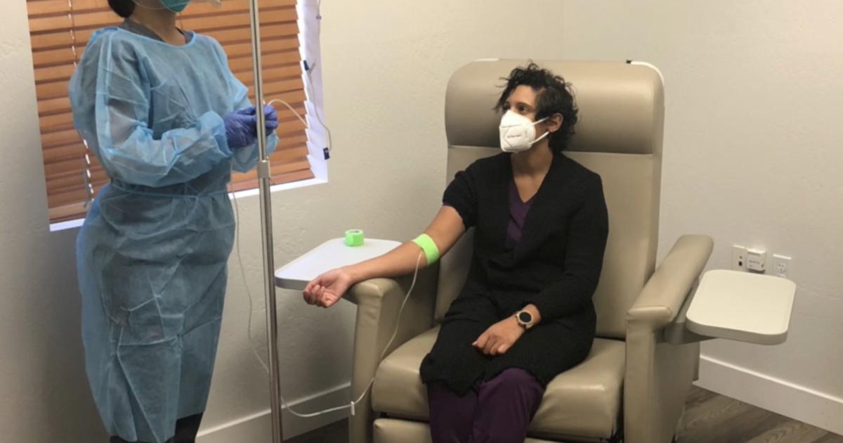 Mesa lab testing COVID-19 antibody treatment