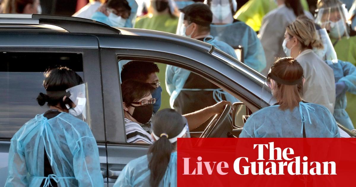 Coronavirus live news: New Zealand places limits on citizen returns as US cases near 3m | World news