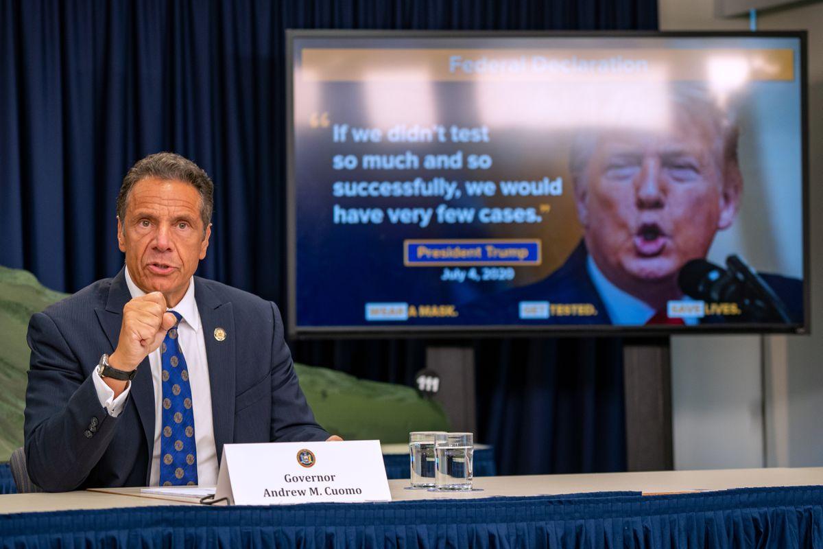 New York Governor blasts Trump's COVID-19 response as U.S. death toll tops 130,000