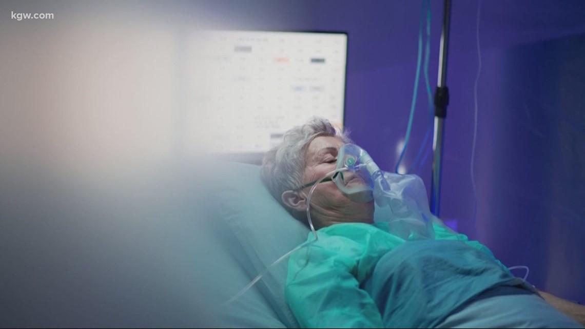 Oregon COVID-19 ICU nurse nervous about surge in hospitalizations