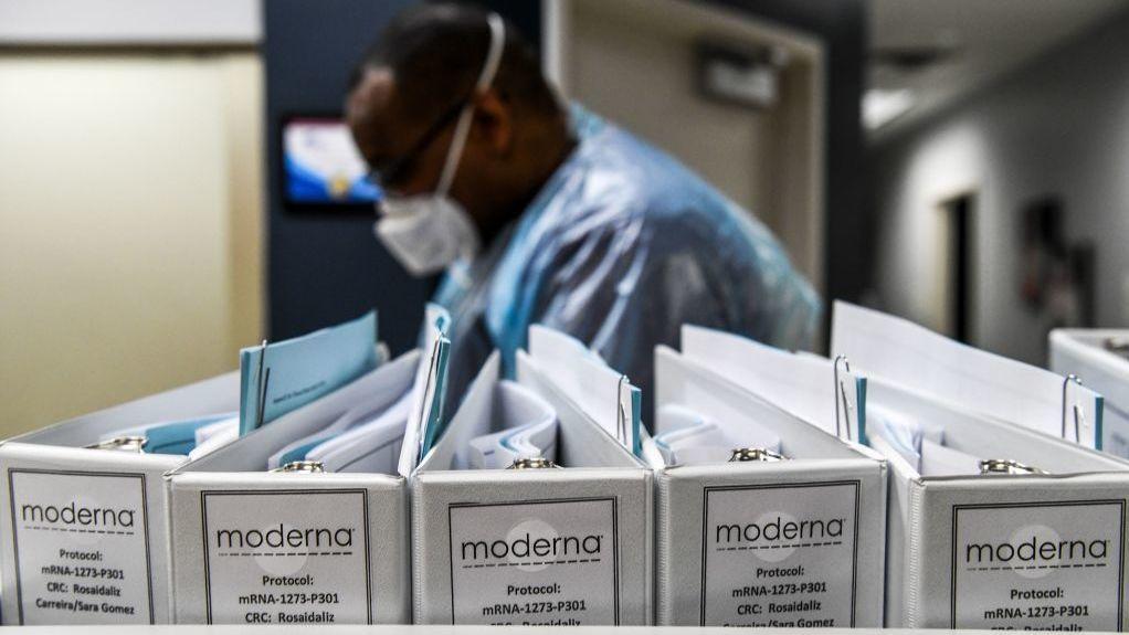 Study Data Show Moderna's COVID-19 Vaccine Prevents Serious Illness : Shots