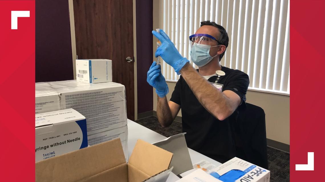 East Texas man receives vaccine ahead of schedule