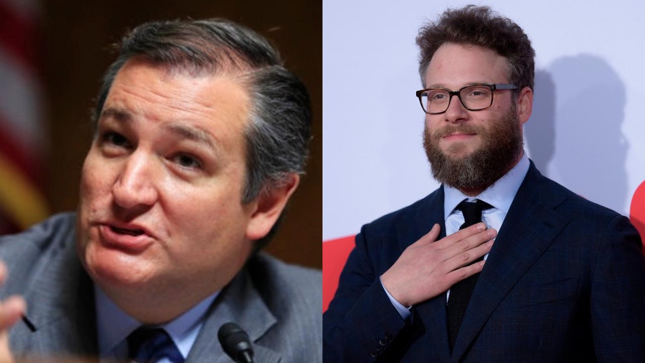 Ted Cruz vs. Seth Rogen: Republican Texas senator and actor take shots over Twitter