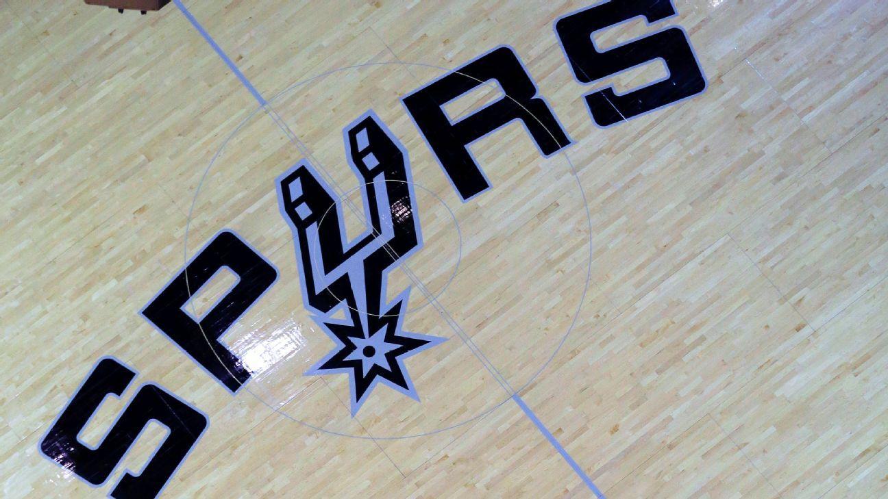 Short-handed San Antonio Spurs back on practice floor